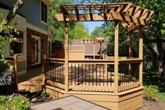 Beautiful Deck and Gazebo